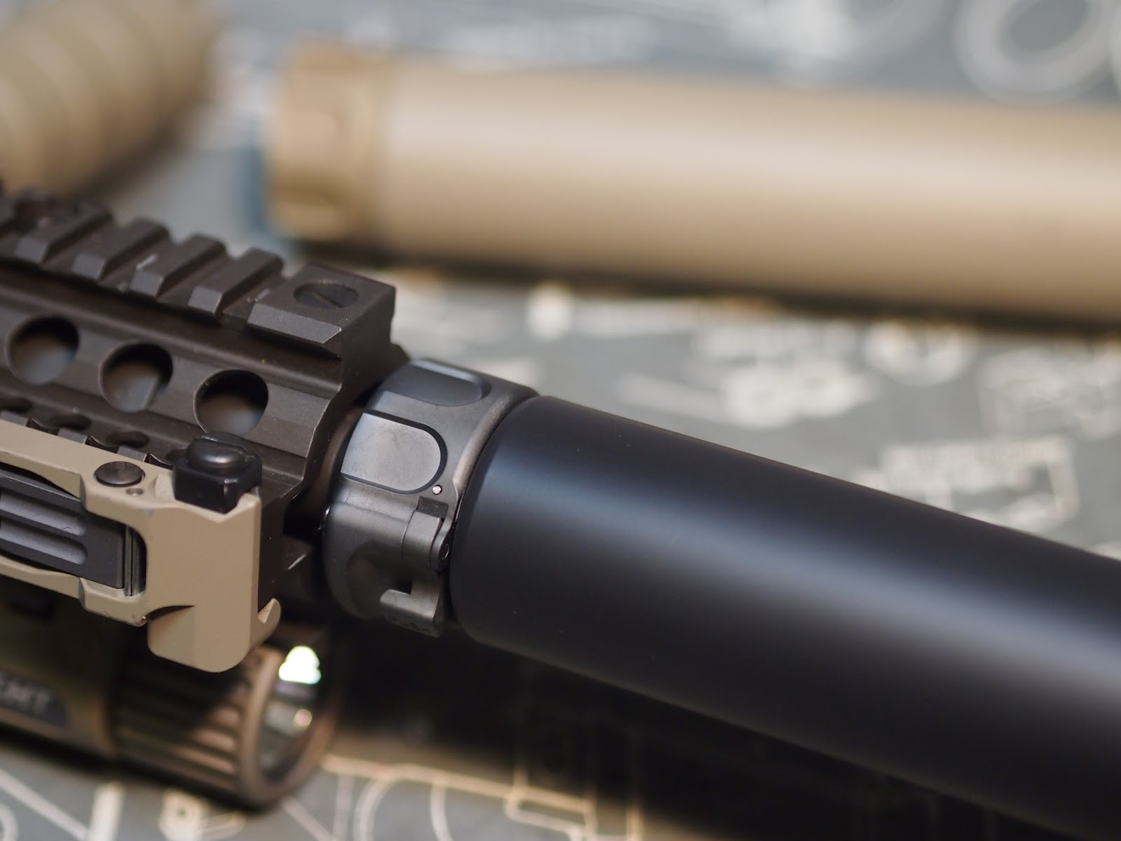 Mister Donut's Firearms Blog: Surefire 7 62 Training Suppressor with