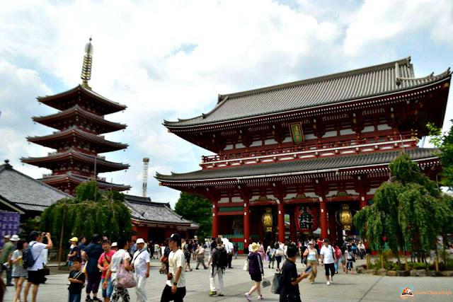 Asakusa Tokyo Sensoji