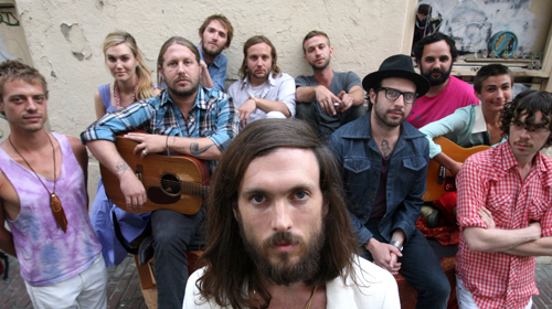 Edward Sharpe + The Magnetic Zeroes_Man on Fire video