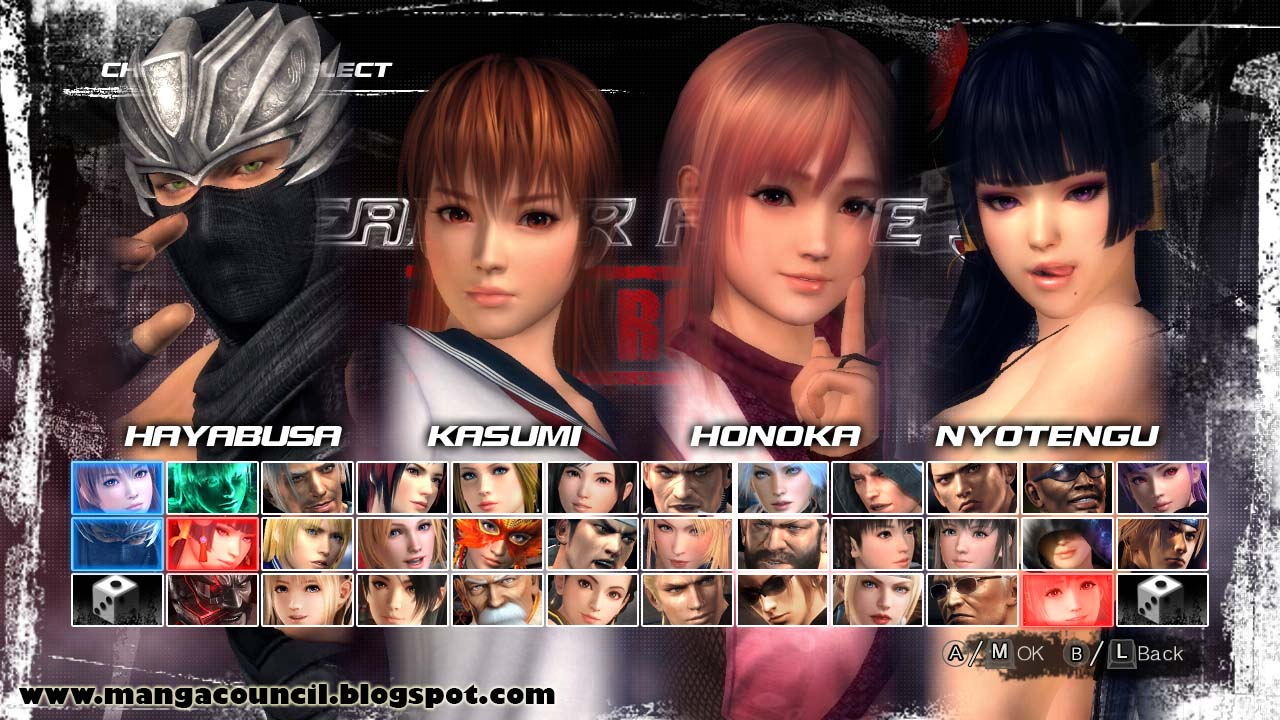 Dead or Alive 5 Last Round Save Game for PC