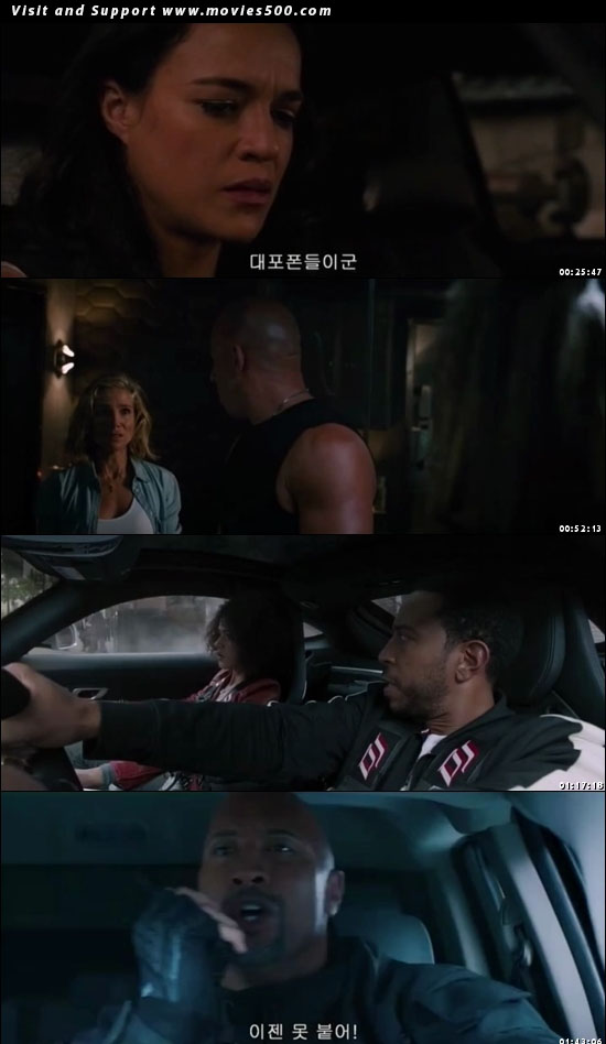 The Fate of the Furious 2017 Full Hindi Dubbed 300MB Download at movies500.com