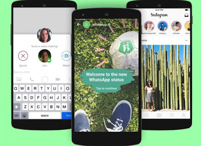 Instagram Stories Bakal Nyambung ke Status WhatsApp