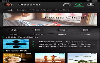 Aplikasi Joox Untuk Karaoke Paling Simple