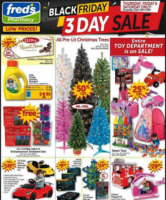Fred's Black Friday 2017 Ad