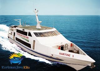KMC kartini kapal penyebrangan dari semarang