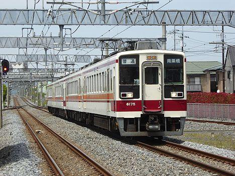 【快速廃止の代わり】復活!6050系の普通 南栗橋行き