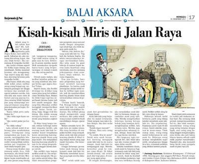 Cerpen: Kisah-kisah Miris di Jalan Raya karya Justang Zealotous