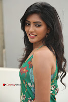 Actress Eesha Latest Pos in Green Floral Jumpsuit at Darshakudu Movie Teaser Launch .COM 0095.JPG