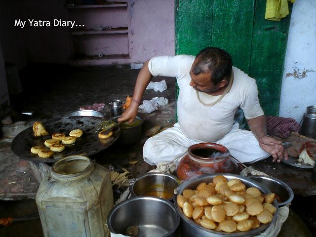 Street food in Mathura
