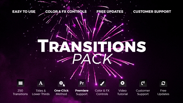 how to put font transitions adobe premier