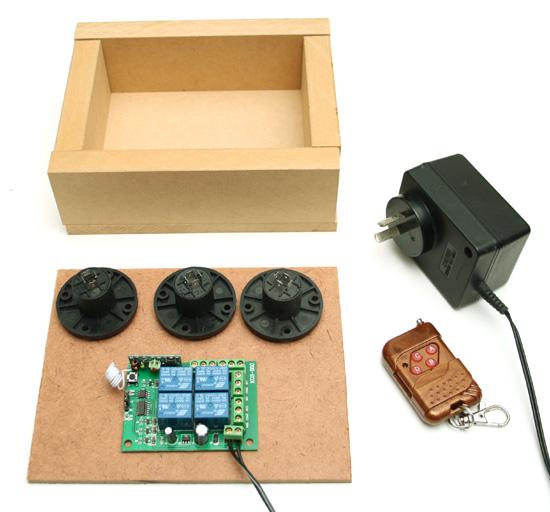 red spade audio diy remote speaker switch box. Black Bedroom Furniture Sets. Home Design Ideas
