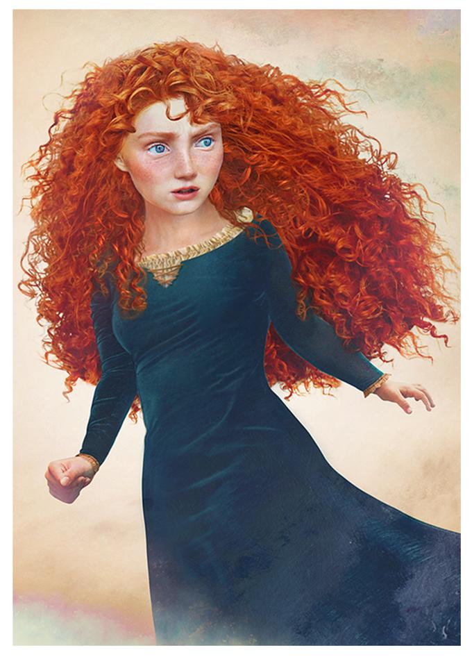 real life disney character Brave персонажи Дисней в реальной жизни Храбрая сердцем