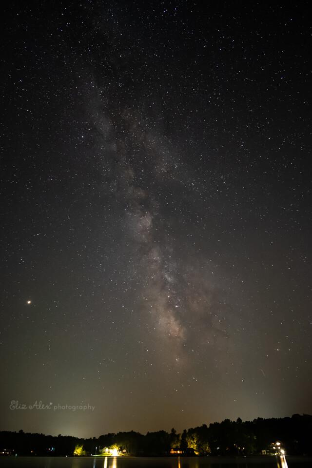 Milky Way Woodlands photographer