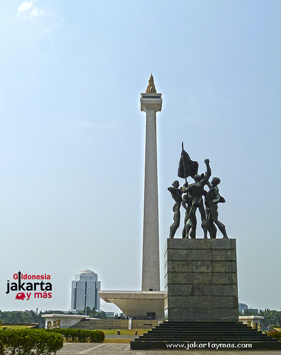 Monumen Nasional en Yakarta