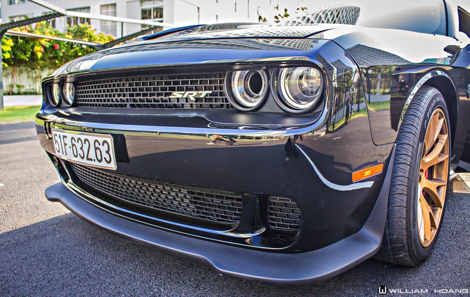 Đôi mắt của Dodge Challenger SRT Hellcat như thôi miên người khác