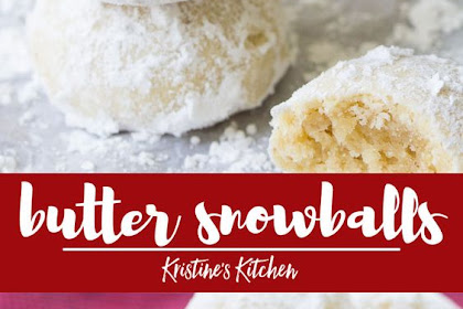 Butter Snowballs Recipe