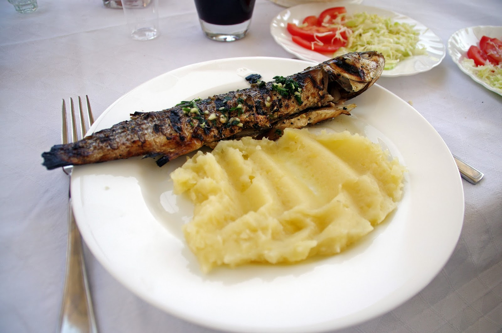 Fresh Fish on Sipan Island