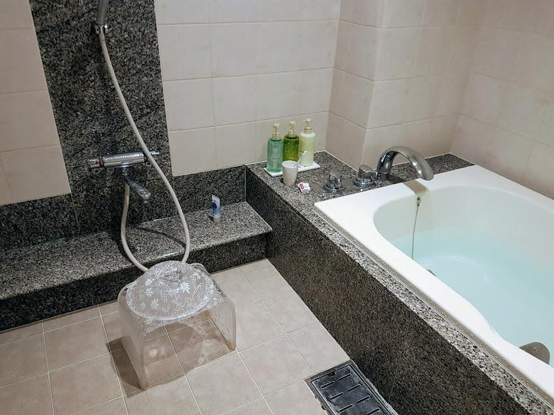 附帶浴缸的大浴室