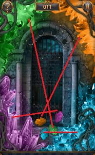 Разноцветные кристаллики