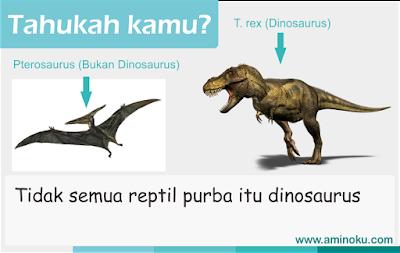 Dinosaurus dan bukan dinosaurus
