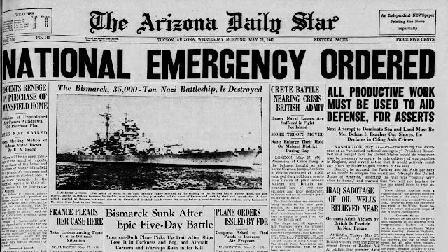 Arizona Daily Star 28  May 1941 worldwartwo.filminspector.com