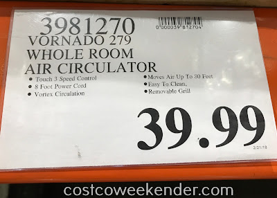 Deal for the Vornado Whole Room Air Circulator at Costco