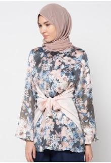Koleksi Model Batik Muslim Kerja