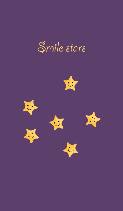 The sky is full of little stars