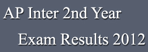 Intermediate Second Year Results 2012
