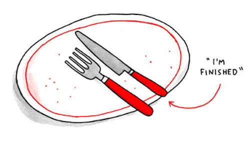 10 quy tắc trên bàn anawn của người châu âu- ảnh 9