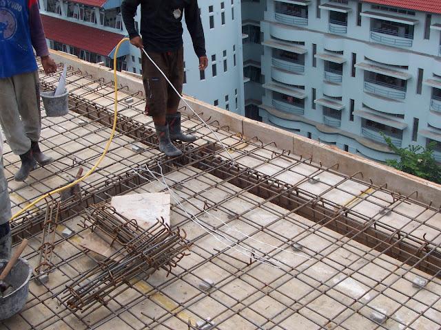 metode pekerjaan dak beton