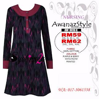 T-Shirt-Muslimah-Awanazstyle-AW0016K