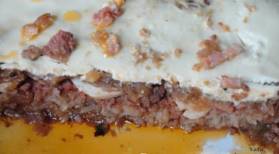 Pastel De Repollo Y Carne Picada