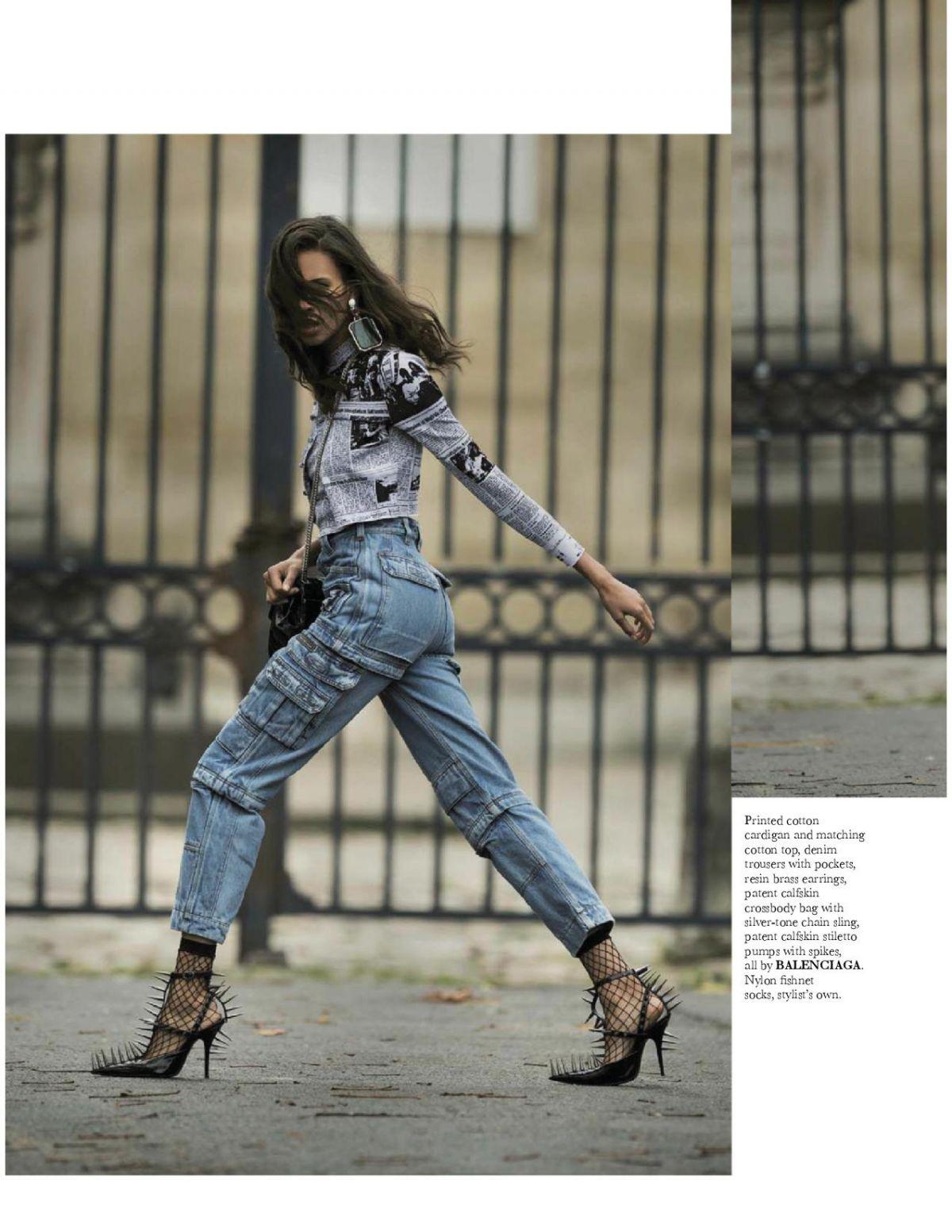 Cindy Bruna For Elle Magazine February 2018