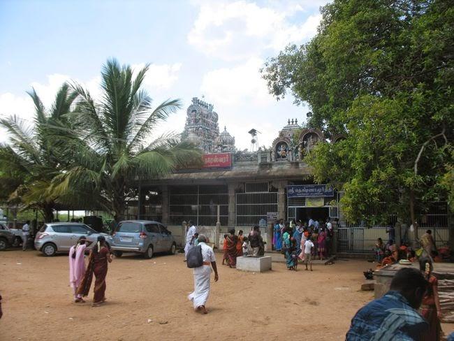 Other Entrance Of Sri Dakshinamurthy Temple