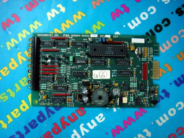 FISHER ROSEMOUNT RS3 01984-1460-0003 IO CONTACT CARD