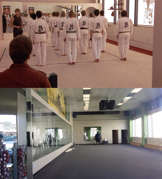Then & Now Movie Locations: The Karate Kid (1984