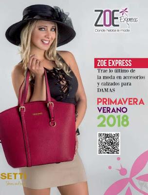Calzado Zoe  2018  carteras y bolsos PV