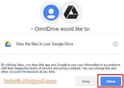 konfirmasi dari google drive