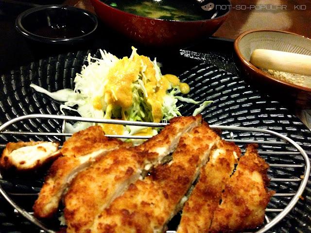 Chicken Katsu in ICHIRO