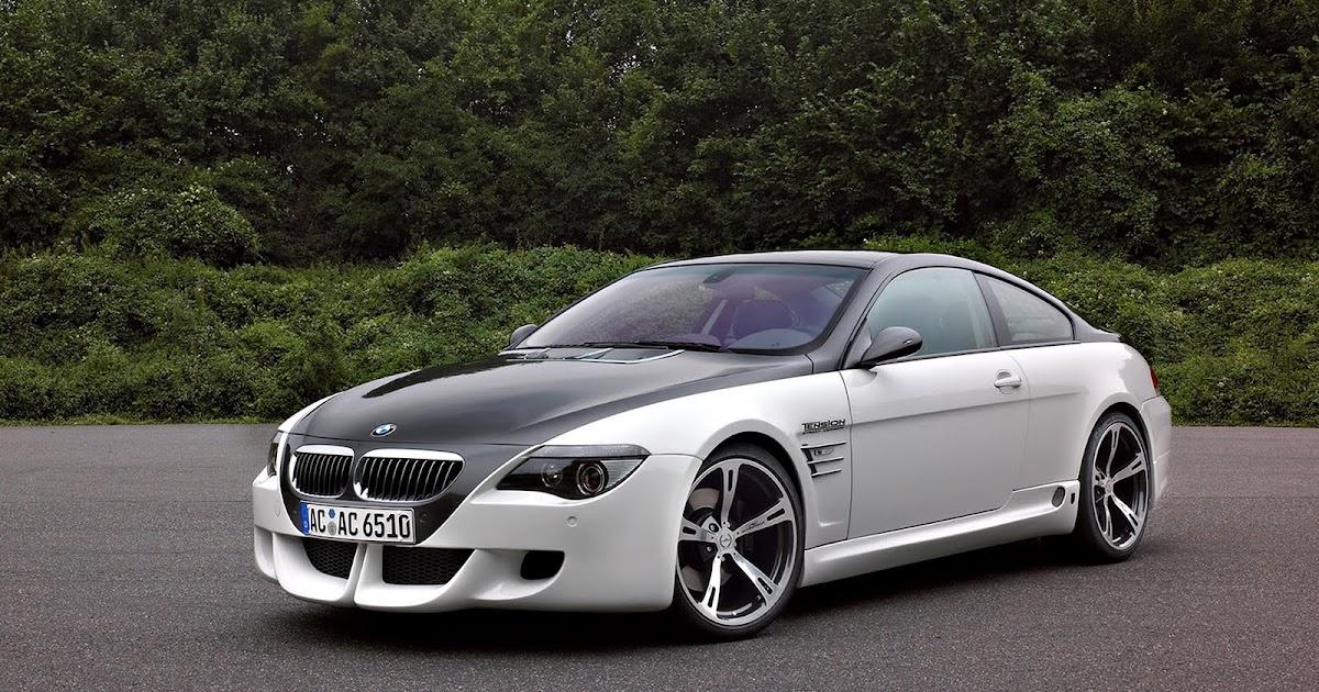 theme wallpaper: White - Black BMW M6 New HD Wallpaper