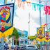 LOCAL: Ornamentação carnavalesca já toma conta das ruas de São Joaquim do Monte