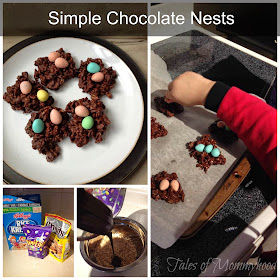 chocolate, eggs, easter, birds nests