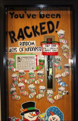Random Acts of Christmas Kindness: You've Been Racked!