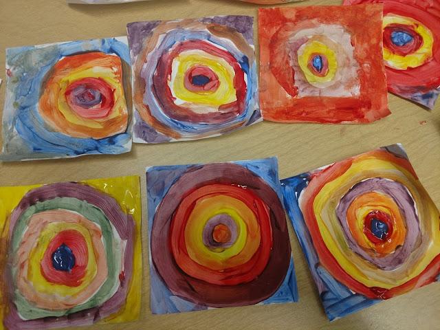 wren elementary kids art concord art association