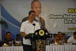 Gubernur NTB,  Dr Zul Mahasiswa Penggerak Ekonomi  Indonesia