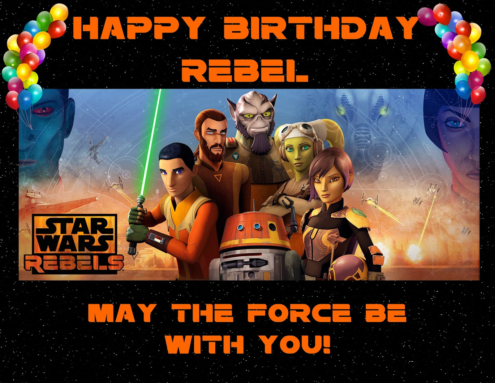 Star Wars Rebels Party Banner