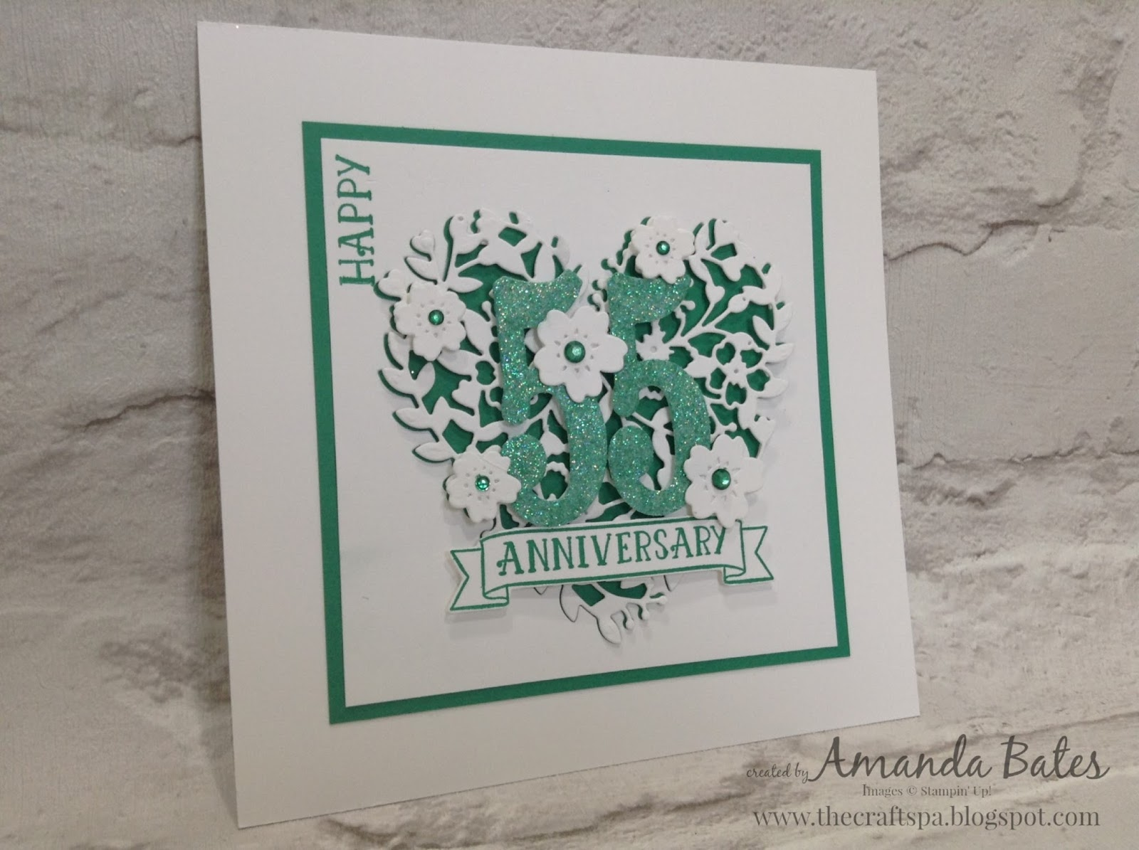 The craft spa stampin up! uk independent demonstrator : emerald