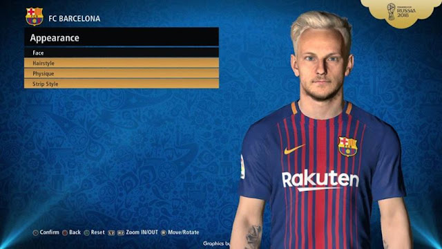 Ivan Rakitic Face PES 2017
