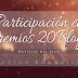 Participación en los Premios 20Blogs